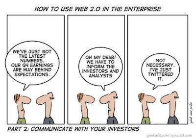 Tweating the Investors
