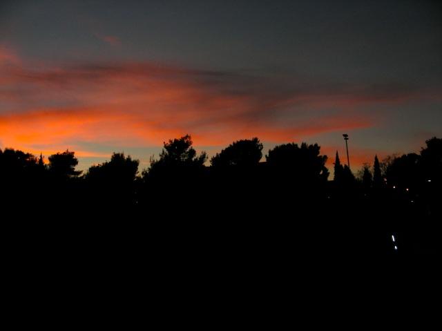 Evening Cloud over Podgirica