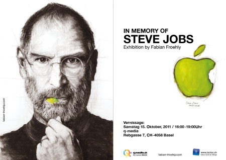 STEVE JOBS Vernissage Basel