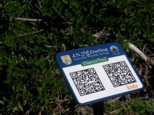 QR Code in Ding Darling National Refuge