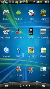 App Screen on Android Phone