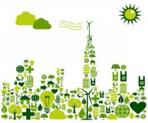 Drawing symbolizing Green City